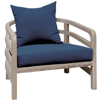 Linley Navy Outdoor Chair Cushion, Set of 2