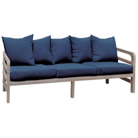 Linley 30 X 27 inch Navy Outdoor Sofa Cushion, Set of 8