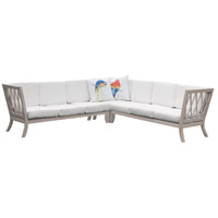 Hilton White Outdoor Sectional Cushion