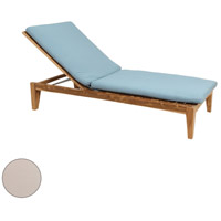 Guildmaster 2318012S-CO Morgan 32 X 28 inch Cream Outdoor Chaise Lounge Cushion