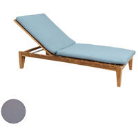 Guildmaster 2318012S-GO Morgan 32 X 28 inch Gray Outdoor Chaise Lounge Cushion