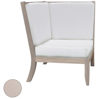 Hilton Corner 26 X 23 inch Cream Outdoor Chair Cushion