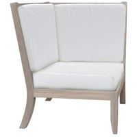 Guildmaster 2318016S-WO Hilton White Outdoor Corner Chair Cushion, Set of 3