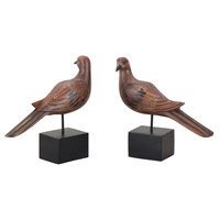 Guildmaster 2516510S Doves on Stands Handpainted Ornament, I