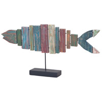 Guildmaster 2516524 Fish On Stand Handpainted Ornament
