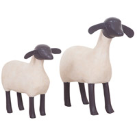 Guildmaster 2516526S Sheep Handpainted Ornament, A