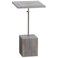 Guildmaster 2818501 Justin 12 inch Henna/Silver Accent Table