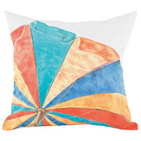Guildmaster 2917027 Beach Umbrella 24 X 24 inch Handpainted Art Pillow