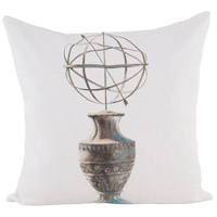 Guildmaster 2917033 Sphere De Ptolemee 24 X 24 inch Handpainted Art Pillow