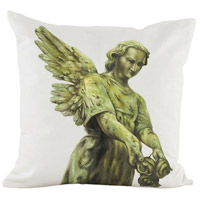 Guildmaster 2917034 Graceful Angel 24 X 24 inch Handpainted Art Pillow