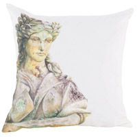Guildmaster 2917037 Roman Goddess 24 X 24 inch Handpainted Art Pillow