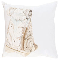 Guildmaster 2917039 Acanthus Corbel 24 X 24 inch Handpainted Art Pillow