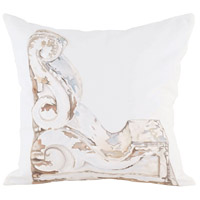 Guildmaster 2917040 Scrolled Corbel 24 X 24 inch Handpainted Art Pillow