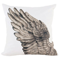 Guildmaster 2917043 Angel Wing 24 X 24 inch Handpainted Art Pillow