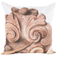 Guildmaster 2917044 Corinthian 24 X 24 inch Handpainted Art Pillow