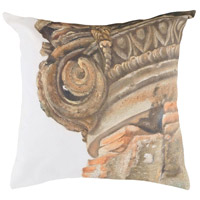 Guildmaster 2917045 Ionic 24 X 24 inch Handpainted Art Pillow