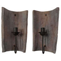 Guildmaster 305001S Terra Cotta 15 X 8 inch Candle Sconce
