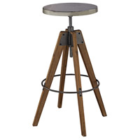Guildmaster 3187-002 Rolfe 30 inch Natural Woodtone and Tin Stool