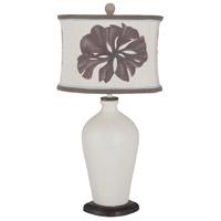 Guildmaster 3516034 Terra Cotta Xii 31 inch 100 watt Vintage Bouleau Blanc Table Lamp Portable Light
