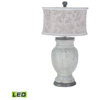 Parma 23 inch 9.5 watt Concrete Table Lamp Portable Light