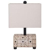 Guildmaster 3516501 Dice 19 inch Handpainted Table Lamp Portable Light