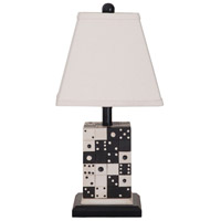 Domono 23 inch Handpainted Table Lamp Portable Light