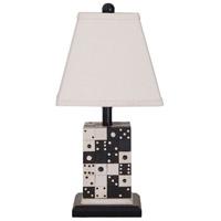 Guildmaster 3516502 Domono 23 inch Handpainted Table Lamp Portable Light