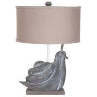 Snail 27 inch Handpainted Table Lamp Portable Light