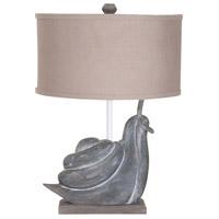 Guildmaster 3516503 Snail 27 inch Handpainted Table Lamp Portable Light