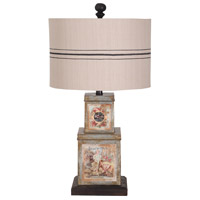 Vagabon 28 inch Handpainted Table Lamp Portable Light