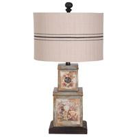 Guildmaster 3516508 Vagabon 28 inch Handpainted Table Lamp Portable Light