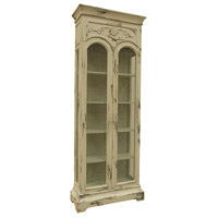 Display Cabinet Cream Cabinet