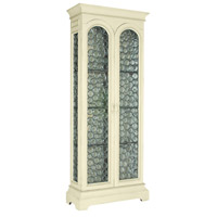 Majesty Whitewash Display Cabinet, Tall