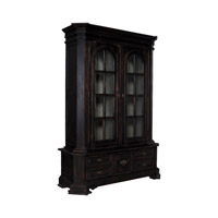 Library Black Bookcase