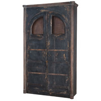 Farmhouse Natural Aged Stain and Vintage Noir Armoire