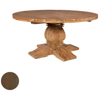 Tuscan 62 inch Burnt Umber Outdoor Dining Table