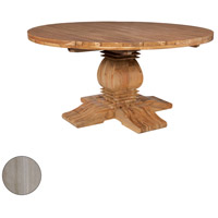 Guildmaster 6117501HT Tuscan 62 inch Henna Teak Outdoor Dining Table photo thumbnail