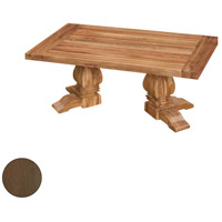Tuscan 50 X 30 inch Burnt Umber Outdoor Cocktail Table