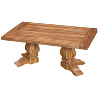 Tuscan 50 X 30 inch Euro Teak Oil Outdoor Cocktail Table