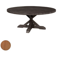 Signature 72 inch Euro Teak Oil Outdoor Dining Table