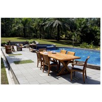 Guildmaster 6118501 The Grove 96 X 40 inch Euro Teak Oil Outdoor Trestle Table alternative photo thumbnail