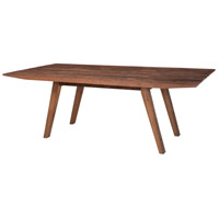 Guildmaster 614008-B Reclaimed Wood 87 X 44 inch Brown Dining Table, Rectangle