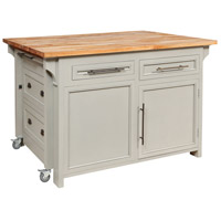 Guildmaster 6317502 Transitions Grain De Bois Greige Kitchen Island