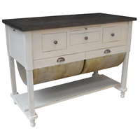 Guildmaster 635002G Possum Belly Handpainted Kitchen Island