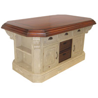 Guildmaster 635500G Signature Handpainted Kitchen Island