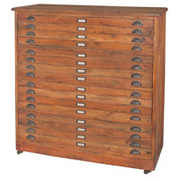 Guildmaster 6416001 Faux Front Natural Chest