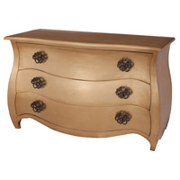 Bombee Gold Leaf Chest, Large