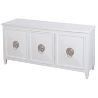 Chinoiserie Grain De Bois Blanc Bookcase Base