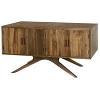 Teak Patio 60 X 30 inch Burnt Umber Outdoor Credenza