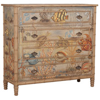 Island Cottage Tropical Chest